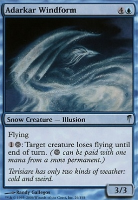 Coldsnap Foil: Adarkar Windform
