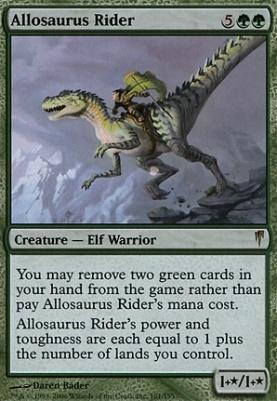 Coldsnap: Allosaurus Rider