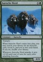 Coldsnap Foil: Aurochs Herd