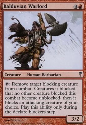Coldsnap Foil: Balduvian Warlord