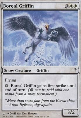 Coldsnap Foil: Boreal Griffin