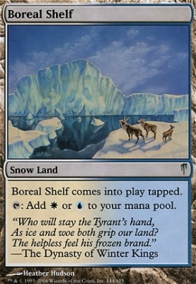 Coldsnap Foil: Boreal Shelf