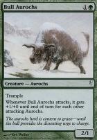 Coldsnap Foil: Bull Aurochs
