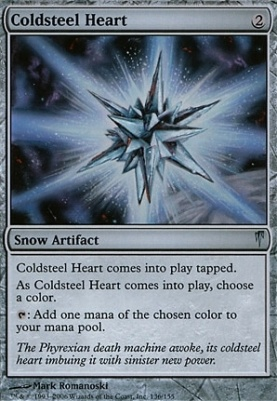 Coldsnap Foil: Coldsteel Heart