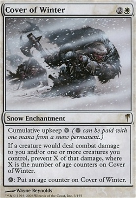 Coldsnap: Cover of Winter
