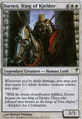 Coldsnap: Darien, King of Kjeldor