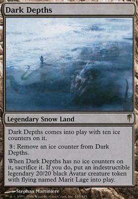 Coldsnap Foil: Dark Depths