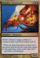 Coldsnap Foil: Deepfire Elemental