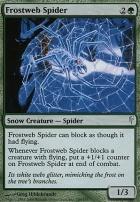 Coldsnap Foil: Frostweb Spider