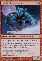 Coldsnap Foil: Goblin Rimerunner