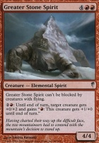 Coldsnap Foil: Greater Stone Spirit