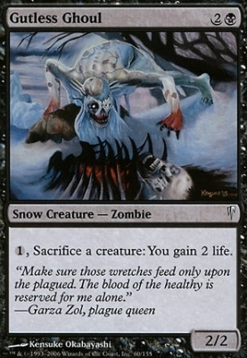 Coldsnap: Gutless Ghoul