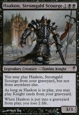 Coldsnap: Haakon, Stromgald Scourge