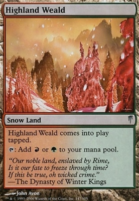 Coldsnap: Highland Weald
