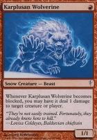 Coldsnap: Karplusan Wolverine