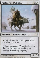Coldsnap Foil: Kjeldoran Outrider