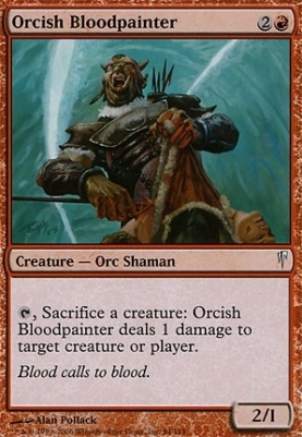 Coldsnap Foil: Orcish Bloodpainter