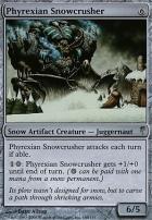 Coldsnap Foil: Phyrexian Snowcrusher