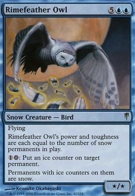 Coldsnap: Rimefeather Owl