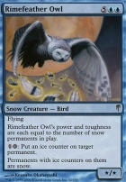 Coldsnap Foil: Rimefeather Owl