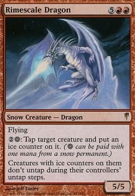 Coldsnap: Rimescale Dragon