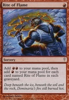 Coldsnap Foil: Rite of Flame