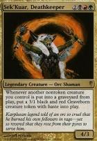 Coldsnap: Sek'Kuar, Deathkeeper