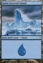 Coldsnap Foil: Snow-Covered Island