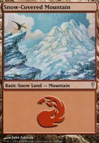 Coldsnap Foil: Snow-Covered Mountain