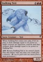 Coldsnap Foil: Stalking Yeti