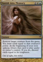 Coldsnap Foil: Vanish into Memory