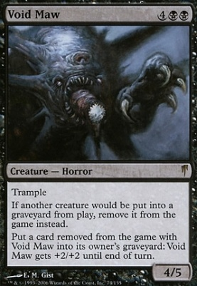 Coldsnap: Void Maw