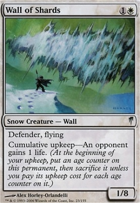 Coldsnap: Wall of Shards