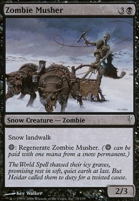 Coldsnap Foil: Zombie Musher
