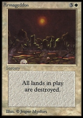 Collectors Ed Intl: Armageddon (Not Tournament Legal)