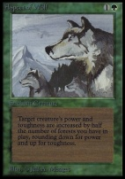 Collectors Ed Intl: Aspect of Wolf (Not Tournament Legal)