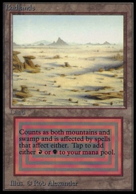 Collectors Ed Intl: Badlands (Not Tournament Legal)
