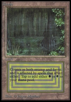 Collectors Ed Intl: Bayou (Not Tournament Legal)