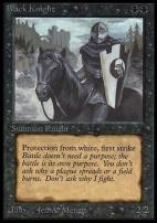 Collectors Ed Intl: Black Knight (Not Tournament Legal)