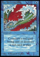 Collectors Ed Intl: Blue Elemental Blast (Not Tournament Legal)