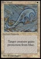 Collectors Ed Intl: Blue Ward (Not Tournament Legal)