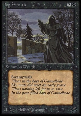 Collectors Ed Intl: Bog Wraith (Not Tournament Legal)