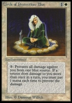Collectors Ed Intl: Circle of Protection: Blue (Not Tournament Legal)