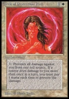 Collectors Ed Intl: Circle of Protection: Red (Not Tournament Legal)
