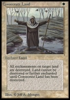 Collectors Ed Intl: Consecrate Land (Not Tournament Legal)