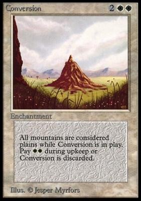 Collectors Ed Intl: Conversion (Not Tournament Legal)