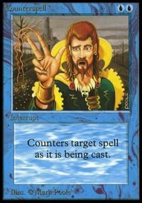 Collectors Ed Intl: Counterspell (Not Tournament Legal)