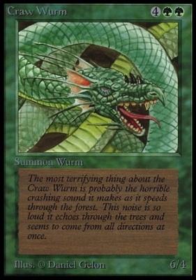 Collectors Ed Intl: Craw Wurm (Not Tournament Legal)