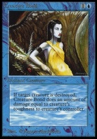 Collectors Ed Intl: Creature Bond (Not Tournament Legal)