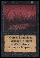 Collectors Ed Intl: Cursed Land (Not Tournament Legal)